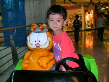 Zen and Garfield in KL
