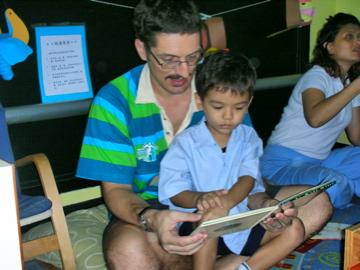 Peter in Zen school