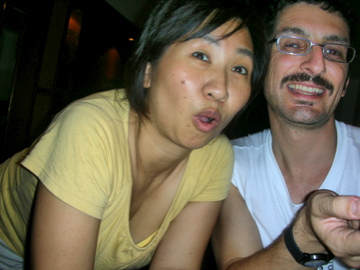 Naoko and Peter