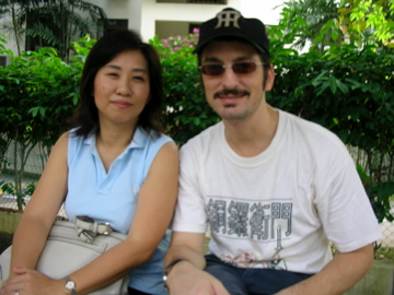Peter and Naoko - pic taken by Zen