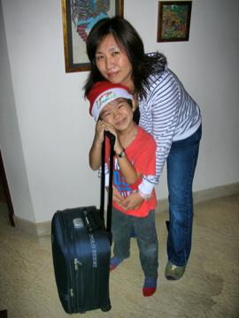 Zen Naoko suitcase