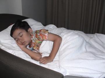 Bangkok hotel sleeping Zen