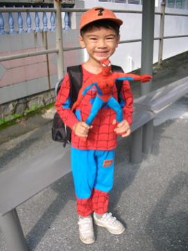 Spidey-kid