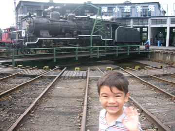 Zen and steam train
