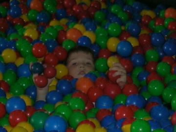Evan in ball room