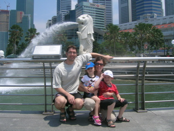 four at Merlion
