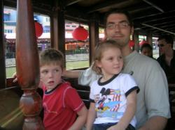 three in bum boat