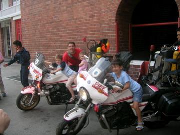 four on fire bikes