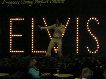Elvis in Changi