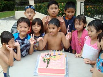 Lucas' birthday