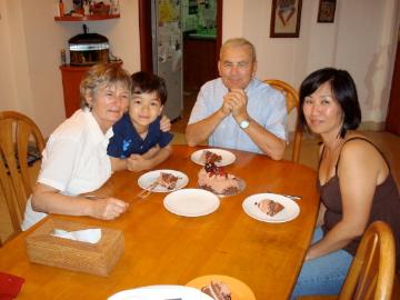 oma's birthday