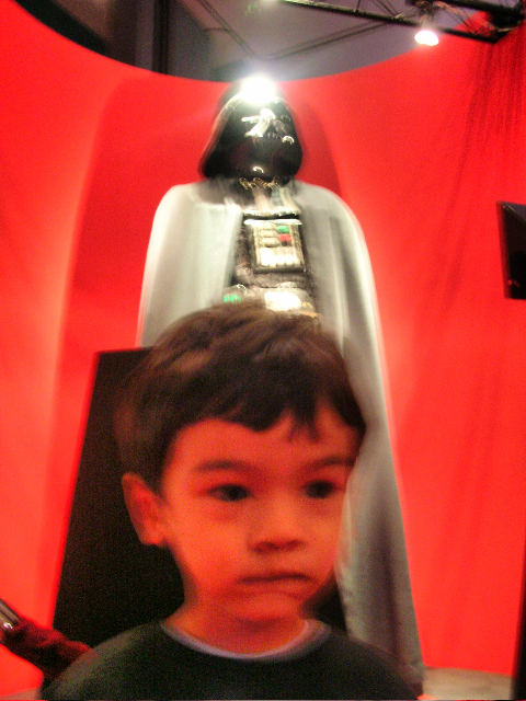 Don't look now, Zen, but there's Darth Vader over your shoulder