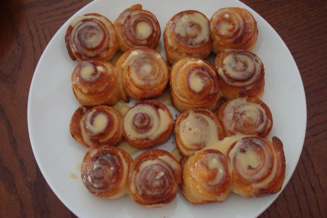 Naoko's amazing cinnamon rolls!!