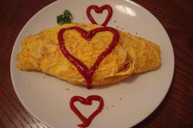 Rice Omelette / om rice