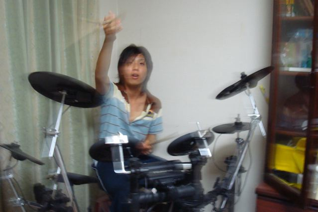 Daichi on Drums
