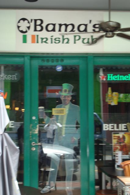 O'Bama's Irish pub in Singapore.