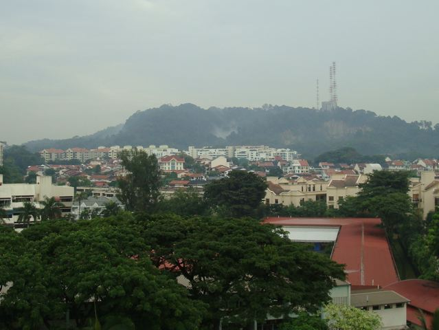 Bukit Timah without haze - August 30th, 2010