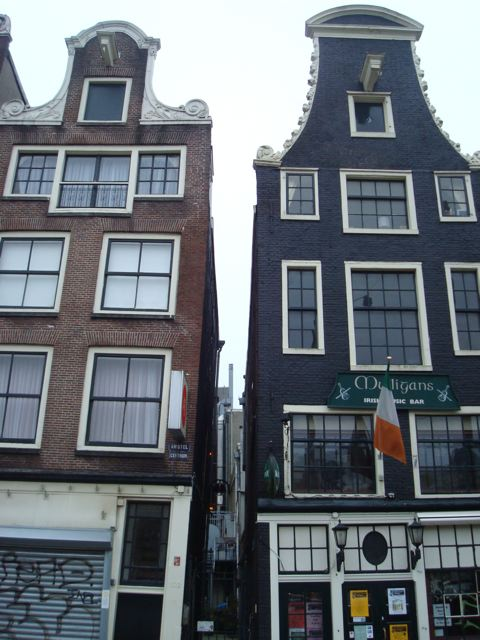 Near my hotel in Amsterdam