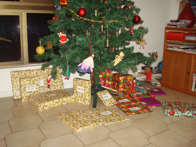 All the loot under the tree