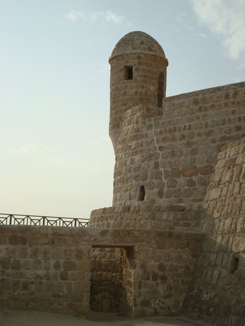 Castle tower in Manama