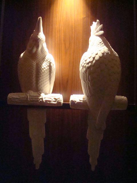 Sulking parrots