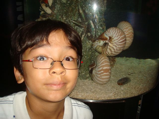 Zen with his new Nautilus friends