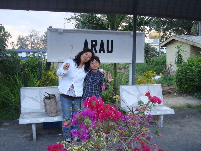 Arrival in Arau