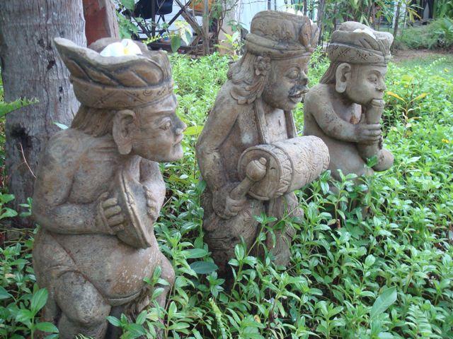 Bali musicians three