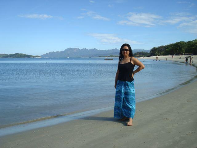 Beach babe Naoko