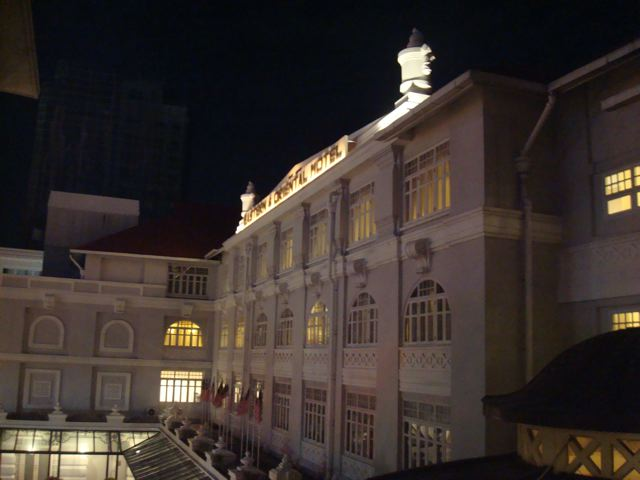 Eastern & Oriental Hotel (night view)