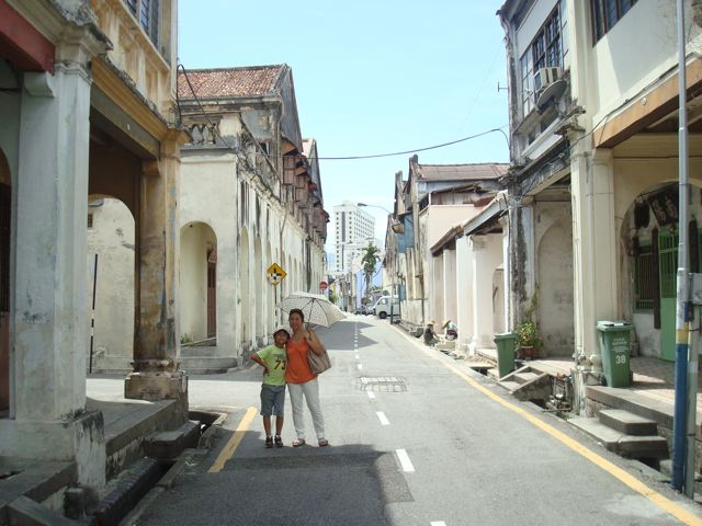 A tour of old George Town, on Penang