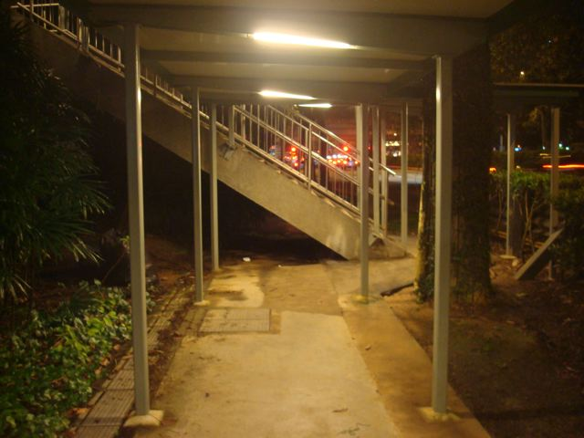 Singapore Sidewalk