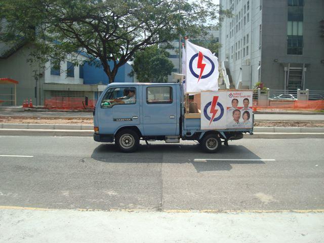 Singapore speaker truck