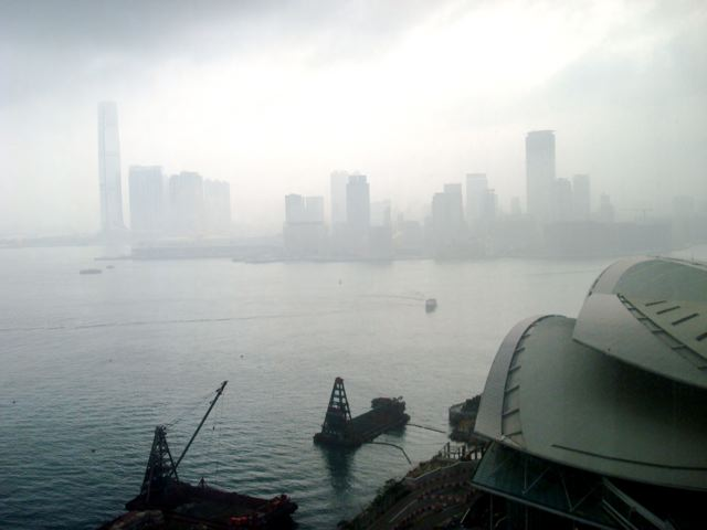 Hong Kong, Friday morning