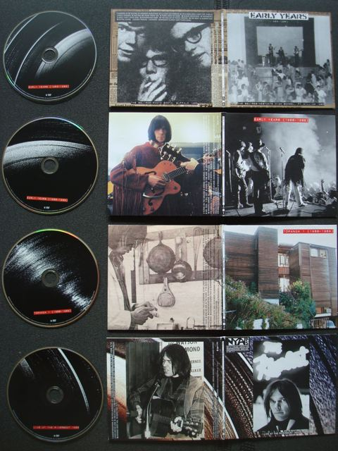 Neil Young Archives, Disc 0-Disc 3, Outside artwork