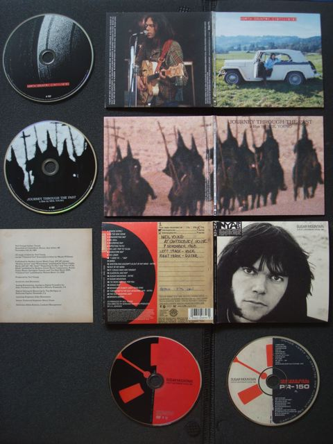 Neil Young Archives, Disc 8 and 9, extra CD/DVD, Outside artwork