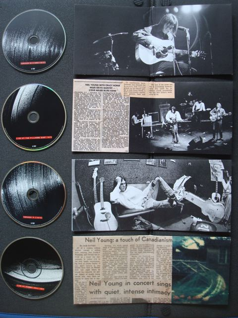 Neil Young Archives, Disc 4-Disc 7, Inside artwork
