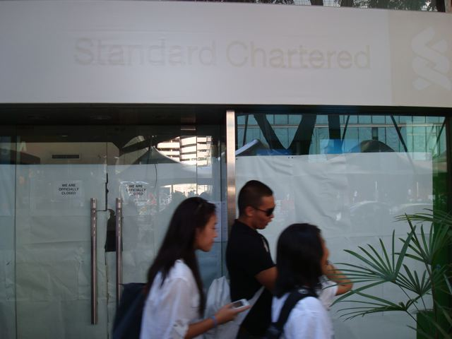 Another Standard Chartered Bank branch bites the dust