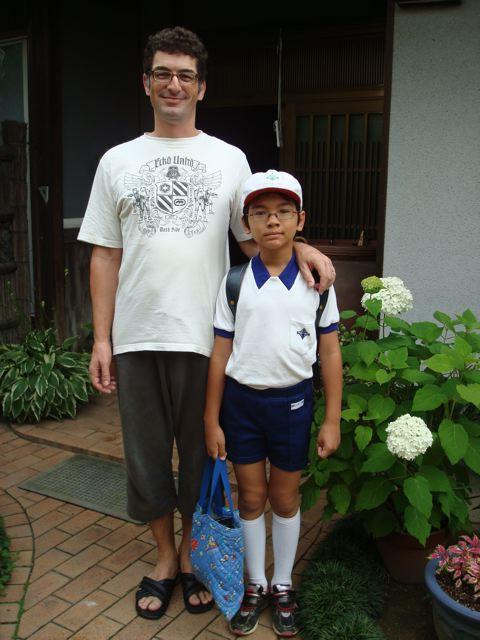 Zen in school uniform