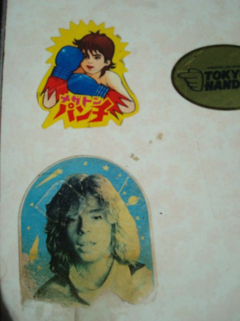 Desk stickers - Mega Punch and Leif Garrett