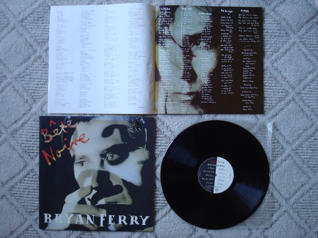 """Bryan Ferry, """"Bete Noire"""" 1"""