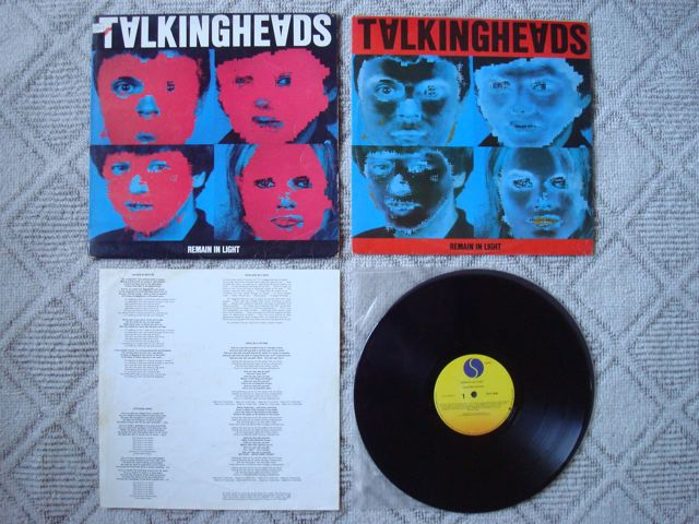 "Talking Heads, ""Remain In Light"" 1"