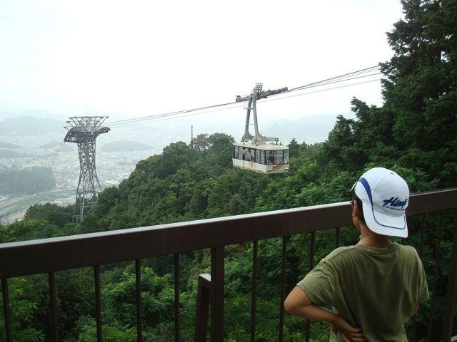 On Mt Shosha in Himeji