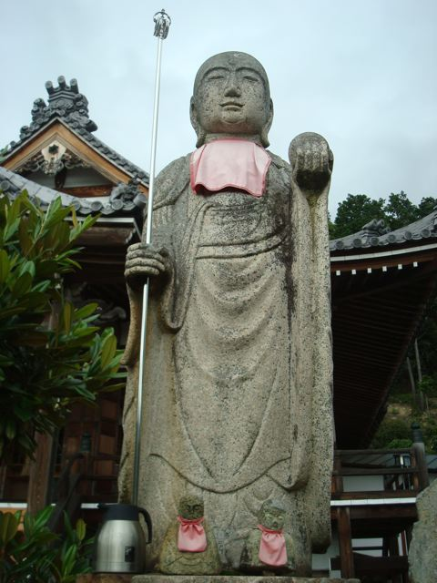 At the base of Mt Shosha in Himeji