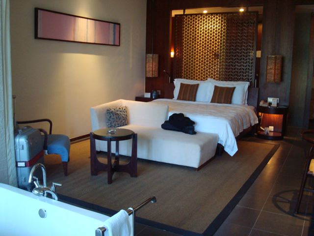 My room at the Sanli Hilton.  Not bad...