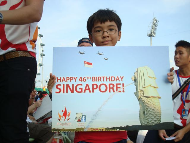Happy 46th birthday, Singapore!