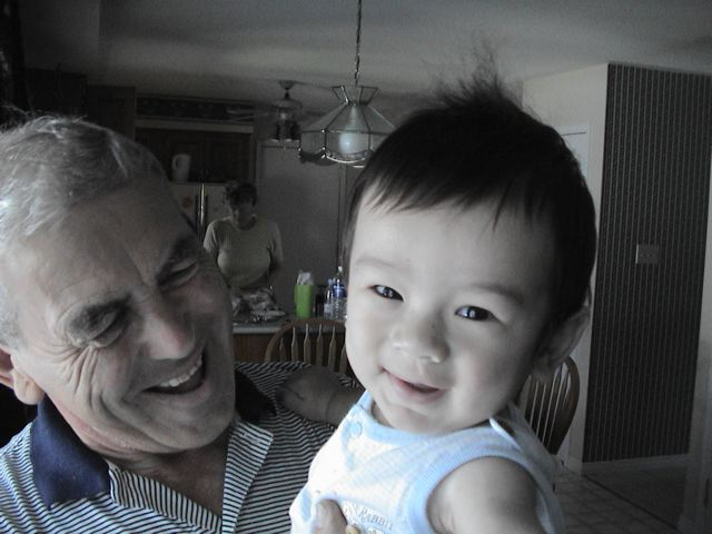 Zen and Opa, July 31st, 2002