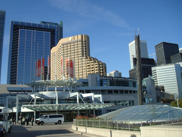 The Metro Toronto Convention Centre, where I was attending a conference.