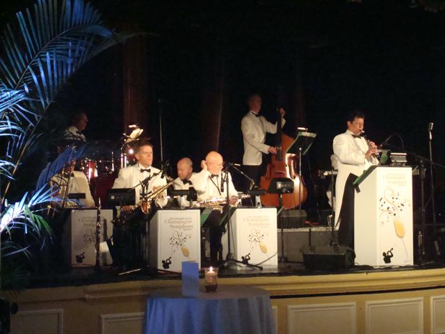 1930s band playing at the Royal York Hotel
