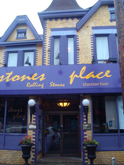 Stones Place, 1255 Queen Street West, our Friday night hang-out